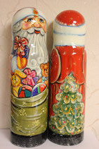 Футляр для бутылки (0,8л) Дед Мороз