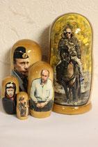 Матрешка  Путин на коне