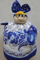 """Кукла на чайник """"Марфуша"""" гжель"""