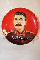 Тарелка сувенирная Сталин