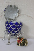 """Яйцо """" Сосновая шишка"""" со слоником 1160/2,4"""
