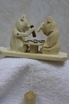 "Богородская игрушка ""Мишки шахматисты"""