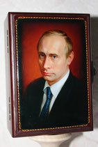 "Шкатулка с зеркалом ""Путин ВВ"""
