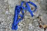 Schlauchleine blau