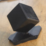 SCHUNGIT cube 5x5 with plate polish    ''SALE''