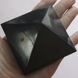 SCHUNGIT pyramid 7x7 polish