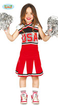 CHEERLEADER  - 7/9  anni   - 82791