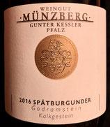 2016 Münzberg, Spätburgunder, Godramstein, Kalkgestein