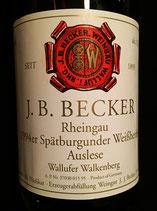 1994 JB Becker Riesling Spätburgunder Weißherbst Auslese  Wallufer Walkenberg