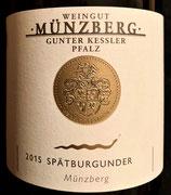 2015 Münzberg, Spätburgunder, Schlangenpfiff Münzberg GG