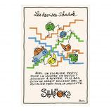 Torchon Shadoks Les Escaliers