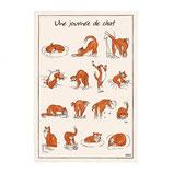 Torchon Une Journée de Chat!