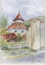 Schloss Zwingen mit Ramsteinerturm