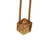 Kette '2-faltig Sechseck' - Gold