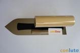 Japanische Kelle 180 x 55 x 0,3 mm; vorne spitz