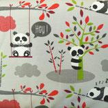 Jersey Panda Balançoire Gris