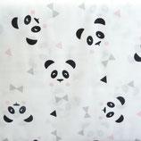 Coton Têtes Panda - MAONY dragée et noir