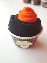 Cup Cakes orange/schwarz