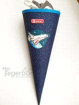 Schultüte Rakete, inkl Beschriftung