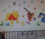 Wand Sticker Winnie Pooh Löwenzahn