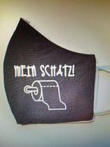 Stoffmaske Mein Schatz
