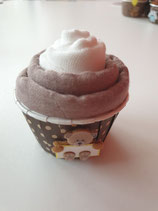 Cup Cakes weiss/grau