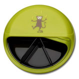 SnackDISC mit 5 Fächer, Affe grün