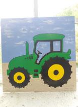 Geburtstafel Traktor