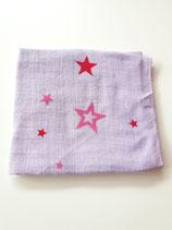 Noschi lila mit Sternen rot/pink