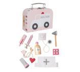 Arzt Koffer rosa