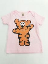 Tegerbär T'Shirt rosa farbig