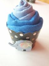Cup Cakes hellblau/dunkelblau
