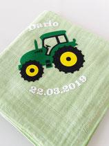 Noschi Lindgrün Traktor