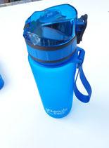 Schmatzfatz Trinkflasche Junior blau 500ml
