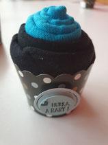 Cup Cakes türkis/schwarz