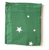 Noschi dunkelgrün mit Leuchtsternen