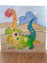 Geburtstafel Dino