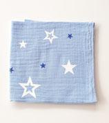 Noschi hellblau mit Sternen, blau/weiss