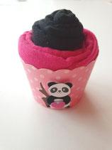 Cup Cakes schwarz/pink