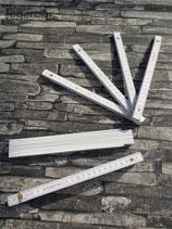 Holzmeter Weiss