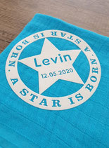 Noschi mit A STAR IS BORN Stern, 60 x 60cm