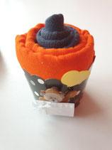 Cup Cakes anthrazit/orange