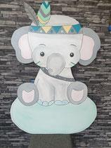 Geburtstafel Elefant