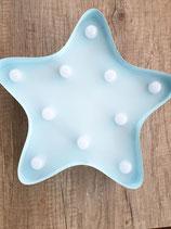 Stern hellblau, inkl Wunschname