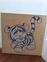 Leinwand Tiger 60 x 60cm