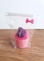 Cup Cakes beeri/pink