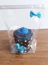 Cup Cakes dunkelblau/anthrazit