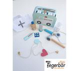 Arzt Koffer blau