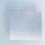 4711.Alu Riffelblech 170X500X1.2, 1 Stück