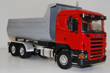 "SCANIA CR 19 rot mit Mulde ""HP"" silber"